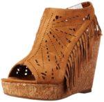 Not Rated Women's Fringe Delight Wedge Sandal