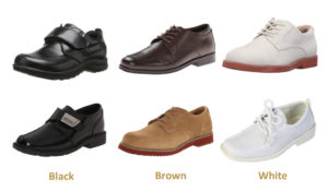 best boys dress shoes black brown white