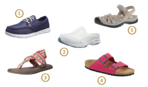 best walking woman shoes