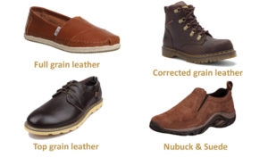 leather types for shoes
