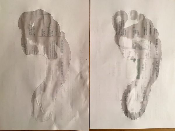same foot wet test